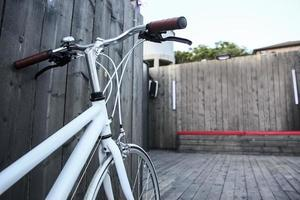 bicicleta da moda foto