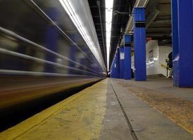 metrô da cidade de nova york foto