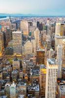 antena da cidade de nova york foto