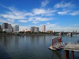 skyline de portland, oregon foto