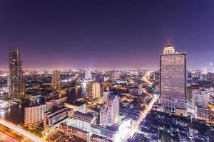 paisagem urbana de bangkok foto