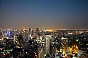 skyline de bangkok foto