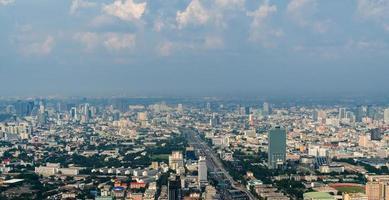 vista de bangkok foto