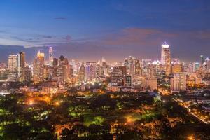skyline cidade de banguecoque foto
