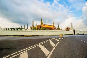 templo de bangkok da esmeralda buda (wat phra kaew) foto