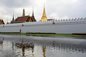 Templo de Wat Phra Kaew, Banguecoque, Tailândia foto