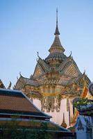 wat po bangkok tailândia foto
