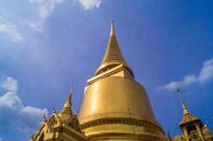 templo em bangkok tailândia foto
