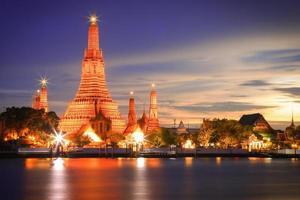 wat arun, bangkok tailândia foto