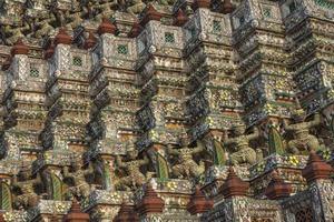 Wat Arun, Banguecoque, Tailândia. foto
