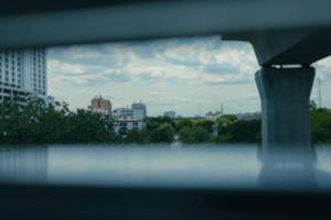 cidade de blured foto