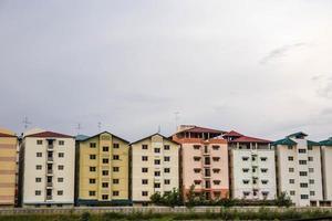 edifício foi construído lado a lado na Tailândia. foto