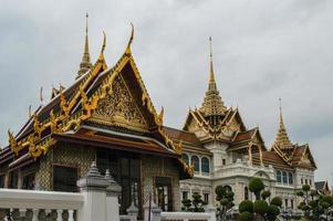 templo de wat phra kaeo bangkok tailândia foto