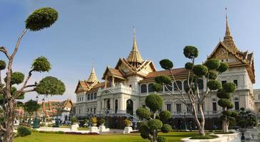 o grande palácio real, bangkok, tailândia foto