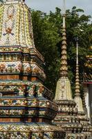 templo de wat pho, bangkok foto