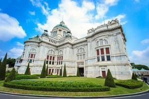 dusit palácio em bangkok, tailândia rei palácio foto