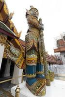 wat phra kaeo templo de banguecoque tailândia foto