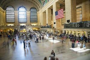 eua - nova york - nova york, estação grand central foto