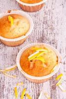 muffin de limão foto