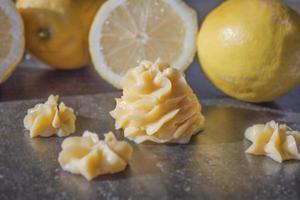 coalhada de limão foto