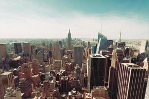 meio-dia de nova york. foto
