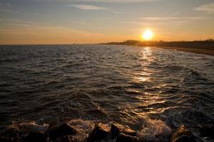 South Beach em Staten Island, em Nova York foto