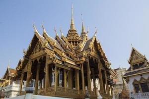 grande palácio bangkok tailândia no dia foto