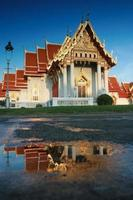 templo tailandês wat benjamaborphit,