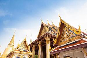 grande palácio real em bangkok foto