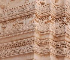 envelhecimento em pedra na Índia foto