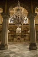 salão da coroação, palácio de chowmahalla foto