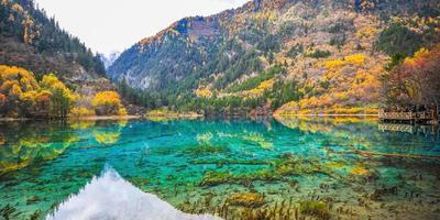 Parque Nacional de Jiuzhaigou foto