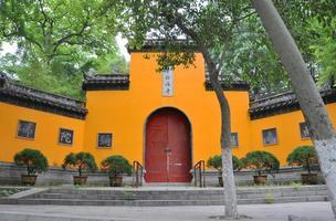 templo de jiming, nanjing, china foto