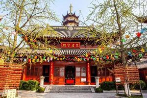 Templo de Jiming na cidade de Nanquim