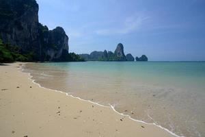 tailândia krabi railay praia foto