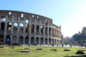 coliseu, roma, itália foto