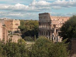 o coliseu - roma, itália foto