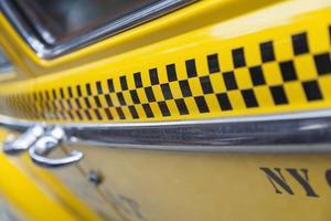 táxi de nova york foto
