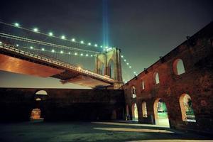 noite da cidade de nova york foto