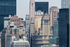 cidade de nova york, linha do horizonte foto