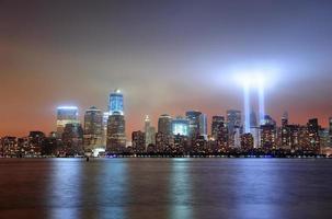 cidade de nova york manhattan no centro foto