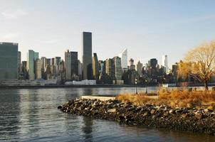 skyline de nyc foto