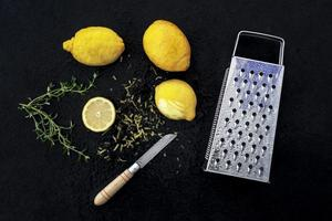 ralador de limão, cozinha foto