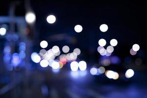 luzes desfocadas foto
