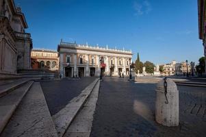praça do capitólio (campidoglio) - roma, itália foto