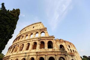 Coliseu, em Roma, Itália foto