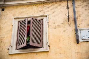 paisagem urbana tradicional em Roma, Itália