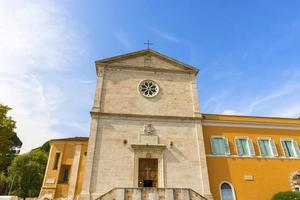 a igreja de san pietro in montorio, em roma, itália.