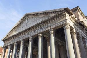 panteão em Roma. foto
