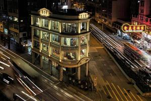 edifício histórico em hong kong foto